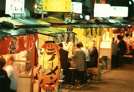 Nakasu Yataigai ( Food Stall Street)